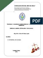 Tratados y Convenios Sobre Derecho y Legislación Ambiental