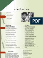 Análisis de Poemas