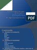 Unidad III. Estadistica Descriptiva Metodos Numericos