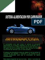 ALIMENTACION CARBURADOR