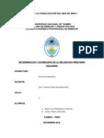 Determinacion y Exigibilidad de La Obligacion Tributaria Aduanera