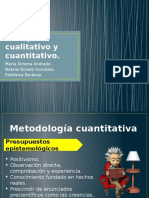 Enfoque Cualitativo y Cuantitativo
