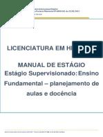 Manual Atualizado - História Estágio Ensino Fundamenta Planej e Docência