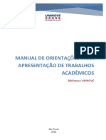 Manual Elaboracao Trabahos ABNT