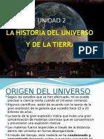 La Historia Del Universo y La Tierra