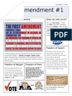 Amendment #1 News