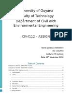 CIV4112 - Assignment 3