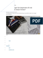 Analisis de Impuestos
