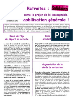 Tract Projet Loi Couleur