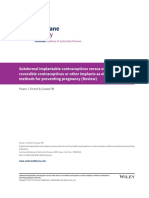 Subdermal Implantable Contraceptives Versus Other Forms of Reversible Contraceptives or Other Implants as Effective Methods for Preventing Pregnancy (Review)