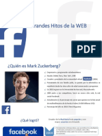 Hitos Web - Mark Zuckerberg