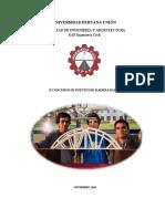 Bases II Concurso de Puentes de Madera Balsa UPeU 2016