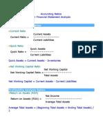 Accounting Ratio