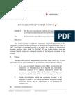 RMO 07-15 List of Penalties