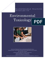 Env Toxicology Promotor Module Final October 2014