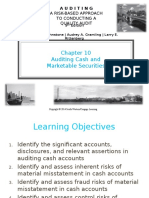 Auditing Cash and Marketable Securities (Chapter 10)