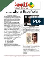 Literatura Espanola