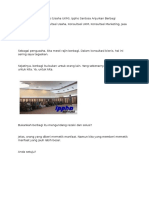 Dalam Konsultasi Bisnis (Usaha UKM), Ippho Santosa Anjurkan Berbagi