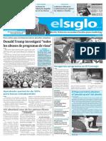 Edición Impresa Elsiglo 22-11-2016