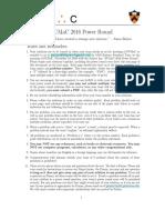 PUMaC Power Round 2016