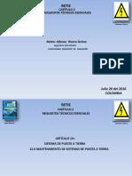 Mantenimiento SPT Retie 2015