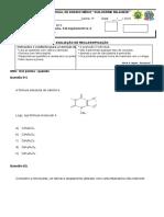 Reclassificação Química 2 Ano