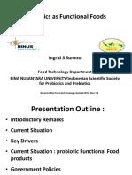 Ingrid s Surono-probiotics as Functional Foods
