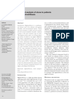Análise química de pedra em pacientes com nefrolitíase