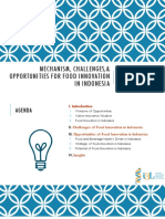 Iwan Surjawan-mechanism Challenges and Opportunities of Foods Innovation in Indonesia