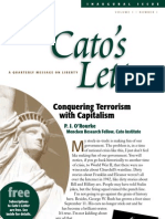 Conquering Terrorism With Capitalism, Cato Cato's Letter