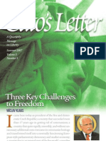 Three Key Challenges to Freedom, Cato Cato's Letter