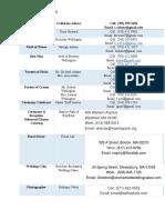 production schedule