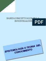 Bases conceptuales de la investigacion
