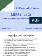 Intro a Computación Mips