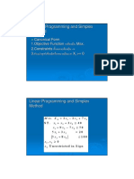 Or Linear Programming & Simplex Method 3