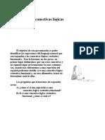 Argumentación y conocimiento conectivas logicas.doc