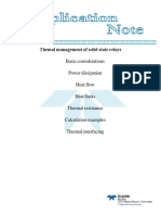Themal Management of Solid State Relays
