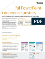 Conference Poster PPT Examples