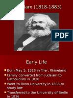 Marx Biography