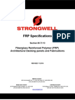 FRP Architectural Decking Specification