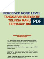 Perceived Noise Level