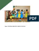 Indentity of Santhals