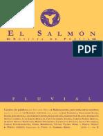 El Salmón - Revista de Poesía - Año I N° 1 - FLUVIAL
