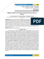 Optimal Control of Dc Motor Using Performance Index of Energy