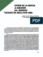 14509_la Distribucion de La Gracia Durante La Anexion de Portugal Rodrigo Vazquez de Arce (1578-1583)