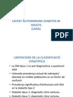 Lada Latent autoinmune diabetis