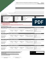 Reimbursement Claim Form - Outpatient