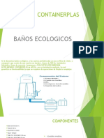 CONTAINERPLAS BAÑOS ECOLOGICOS