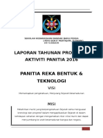 laporan panitia RBT