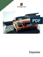 Porsche Cayenne Manual